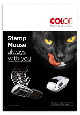 COLOP Stamp Mouse poster formato A2